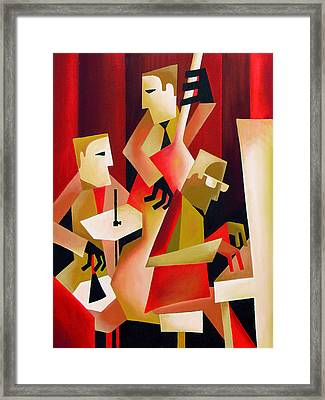 Horace Parlan Trio - Christiania - Copenhagen Framed Print by Thomas Andersen