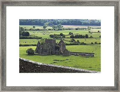Hore Abbey Near Cashel_ County Framed Print by Carl Bruemmer