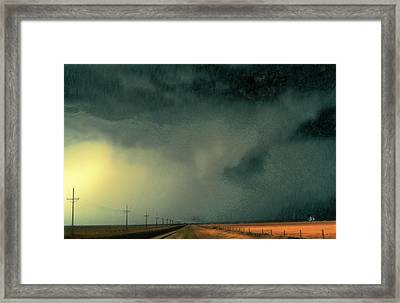 Horizon-1 Framed Print