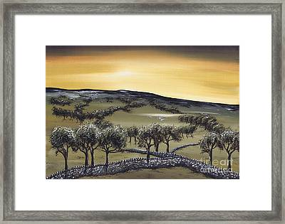 Horizon Framed Print by Kenneth Clarke