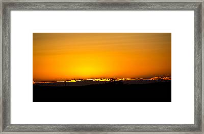 Horizon Line Framed Print by Tom Gari Gallery-Three-Photography