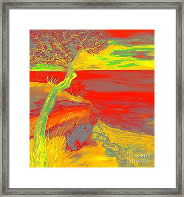Horizon Framed Print by Loredana Messina