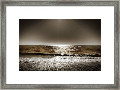 Horizon Framed Print by Mark Rogan