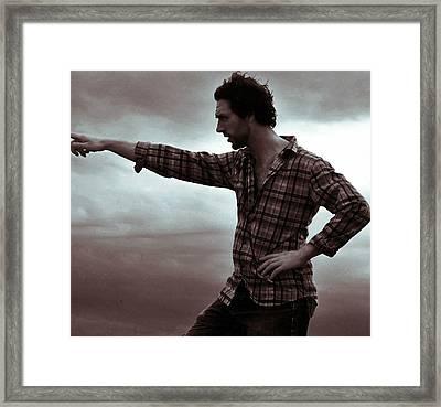 Horizon Framed Print by Samantha Radermacher