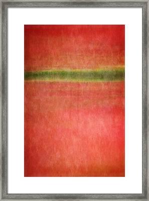 Horizon Framed Print by Takeshi Okada