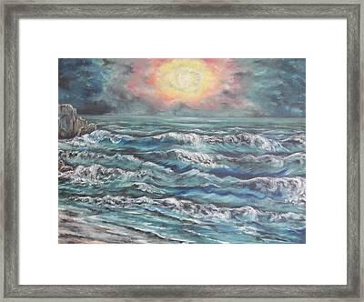 Horizons 3 Framed Print by Cheryl Pettigrew