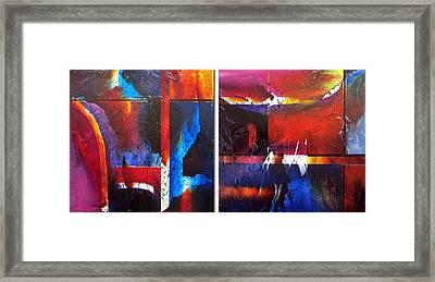 Horizons Framed Print