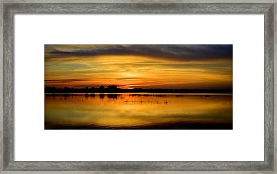 Horizons Framed Print by Bonfire Photography