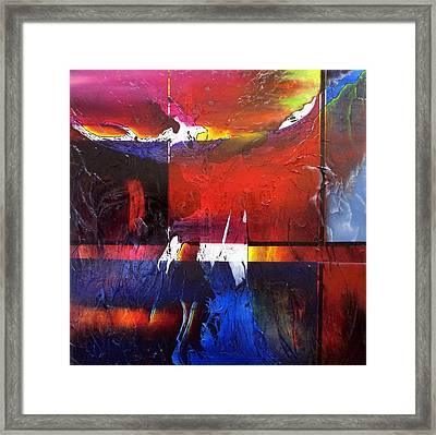 Horizons II Framed Print