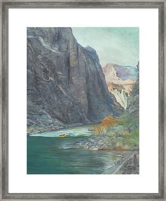 Horn Creek Rapid  Framed Print by Steve King