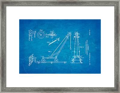 Hornby Meccano Patent Art 1906 Blueprint Framed Print by Ian Monk