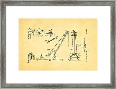 Hornby Meccano Patent Art 1906 Framed Print by Ian Monk
