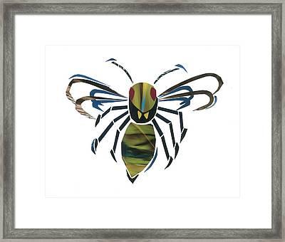 Hornet Framed Print by Earl ContehMorgan