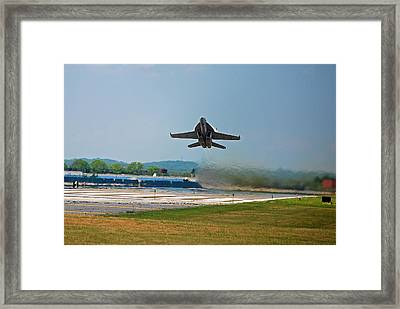 Hornet Heat Framed Print