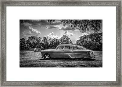 Hornet In Black And White Framed Print
