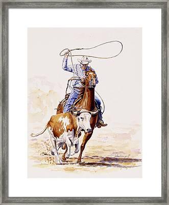 Horns And Hooves Framed Print