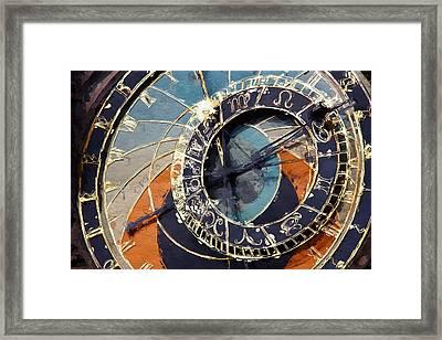 Horologium  Framed Print
