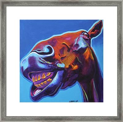 Horse - Finn Framed Print by Alicia VanNoy Call