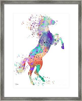 Horse 5 Framed Print