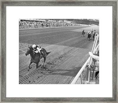 Secretariat Framed Print by Retro Images Archive