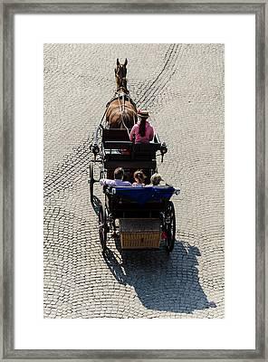 Horse Drawn Carriage Framed Print