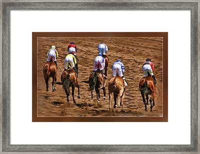 Horse Ends Framed Print