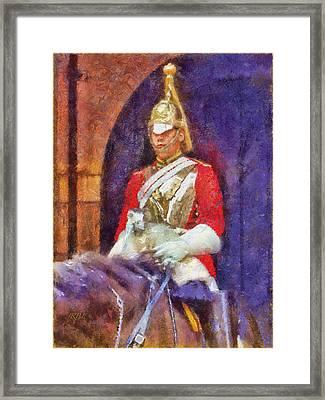 Horse Guard No.1 Framed Print by Rick Lloyd