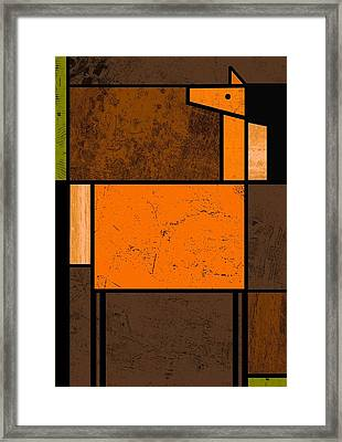 Horse Framed Print by Kenneth North