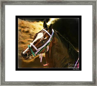 Horse Last Memories Framed Print by Blake Richards
