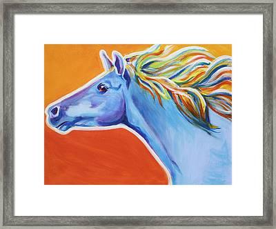 Horse - Like The Wind Framed Print