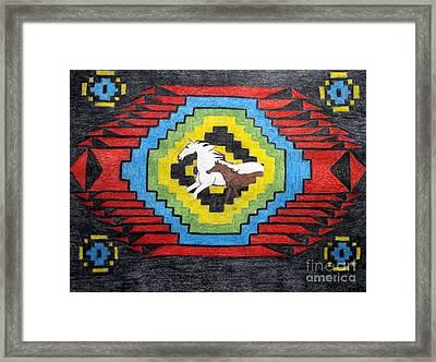 Horse Paradise Framed Print by Elizabeth Stedman