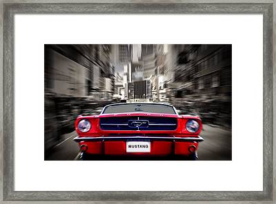Horse Power Framed Print by Mark Rogan