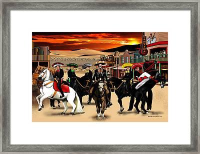 Horse Ride Framed Print