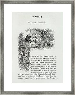 Horse Riding Framed Print by British Library