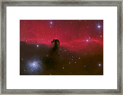 Horsehead Nebula Framed Print by Brian Peterson
