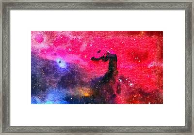 Horsehead Nebula Framed Print by Dan Sproul