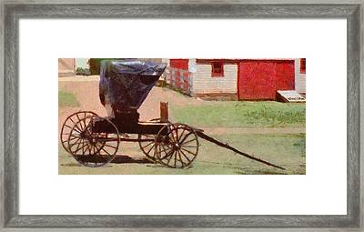 Horseless Carriage Framed Print