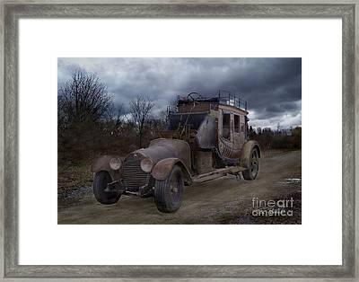 Horseless Framed Print by Tom Straub
