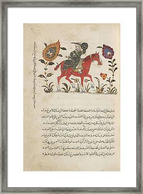 Horseman Framed Print by British Library