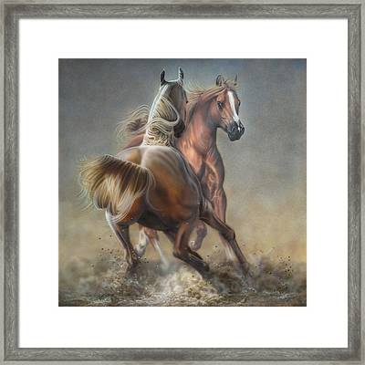 Horseplay Framed Print
