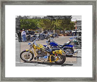 Horses Of Iron24 Framed Print