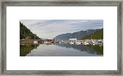 Framed Print featuring the photograph Horseshoe Bay Vancouver Bc Canada by JPLDesigns
