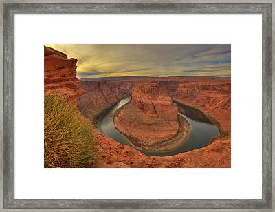 Horseshoe Bend Framed Print by Alan Vance Ley