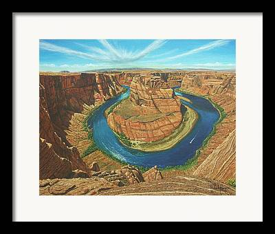 Vermillion Cliffs Framed Prints