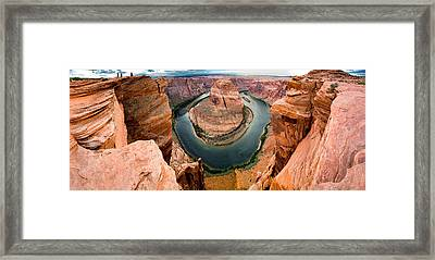 Horseshoe Bend No. 2 Framed Print