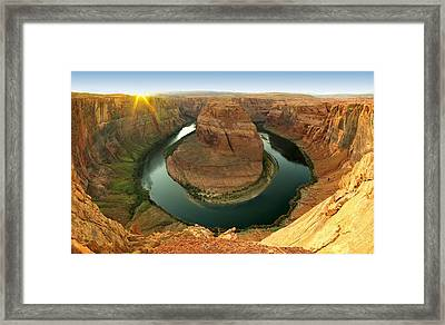 Horseshoe Framed Print