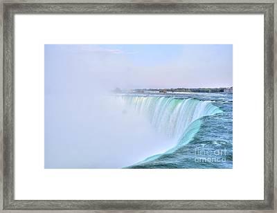 Horseshoe Falls Framed Print by Kathleen Struckle