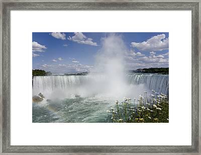 Horseshoe Falls, Niagara Falls Framed Print by Peter Mintz