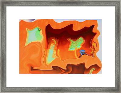 Framed Print featuring the photograph Horseshoe Gambler by Nick David