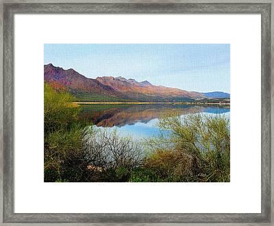 Horseshoe Lake Framed Print